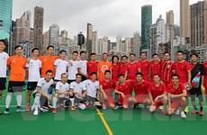 Giao hữu bóng đá người Việt tại Hong Kong và Macau nhân dịp Quốc khánh