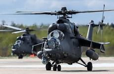 Nga chuẩn bị bàn giao trực thăng Mi-35 và Mi-17 cho Serbia