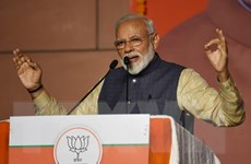 Thủ tướng Ấn Độ điện đàm với Tổng thống Mỹ về tình hình Kashmir