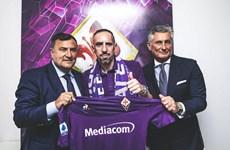 Tiền vệ Franck Ribery chính thức gia nhập CLB Fiorentina