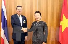 Chủ tịch Quốc hội hội kiến Chủ tịch Thượng viện Vương quốc Thái Lan