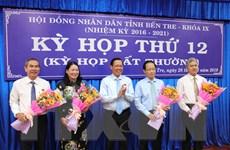 Bầu bổ sung hai Phó Chủ tịch Ủy ban nhân dân tỉnh Bến Tre