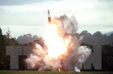 Anh, Pháp và Đức lên án các vụ phóng tên lửa của Triều Tiên