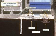 Mỹ: Triều Tiên có thể đang chế tạo tàu ngầm tên lửa đạn đạo mới
