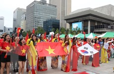 Tưng bừng Lễ hội Văn hóa Việt Nam tại thủ đô của Hàn Quốc