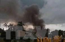 Máy bay chở 8 người rơi xuống khu nghỉ dưỡng ở Philippines