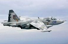 Nga: Rơi máy bay huấn luyện quân sự Su-25UB tại Stavropol