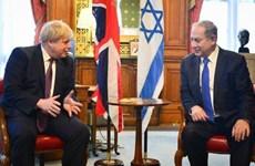 Thủ tướng Israel Benjamin Netanyahu thăm Anh trước thềm bầu cử