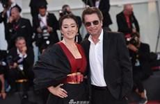 Diễn viên Củng Lợi quyến rũ trên thảm đỏ Liên hoan phim Venice