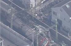 Tai nạn đường sắt nghiêm trọng ở Nhật Bản, hàng chục người bị thương