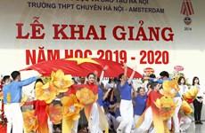 Gần 2 triệu học sinh Thủ đô náo nức bước vào năm học mới