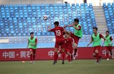 U22 Việt Nam tích cực rèn luyện, sẵn sàng đối đầu U22 Trung Quốc