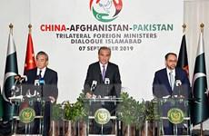 Ngoại trưởng Trung Quốc, Afghanistan và Pakistan đối thoại