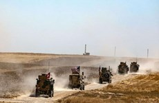 """Giới chức quân sự Mỹ tới Thổ Nhĩ Kỳ đàm phán về """"vùng an toàn"""" ở Syria"""