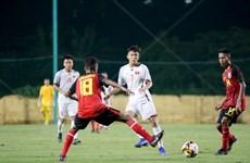 U16 Việt Nam chiến thắng ở trận ra quân vòng loại U16 châu Á