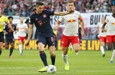 Bundesliga: RB Leipzig-Bayern chia điểm, Dortmund thắng tưng bừng
