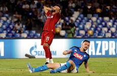 Liverpool 'nếm trái đắng' trước Napoli ở ngày ra quân Champions League