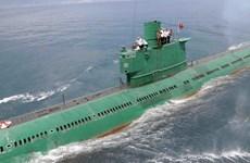Triều Tiên có khả năng đang chuẩn bị hạ thủy tàu ngầm mới
