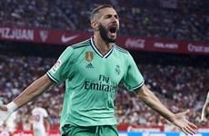 Karim Benzema ghi bàn, Real Madrid áp sát ngôi đầu La Liga