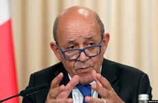 Ngoại trưởng Pháp kêu gọi ưu tiên tìm cách giảm căng thẳng Mỹ-Iran