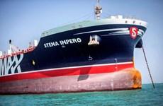 Tàu chở dầu treo cờ Anh Stena Impero vẫn neo ở cảng của Iran