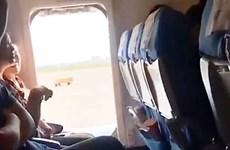 Nữ hành khách Trung Quốc mở cửa thoát hiểm máy bay để 'hít thở'