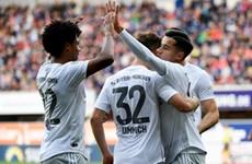 RB Leipzig bại trận, Bayern Munich lần đầu lên đỉnh Bundesliga