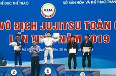 Hà Nội áp đảo huy chương tại giải vô địch Jujitsu toàn quốc 2019