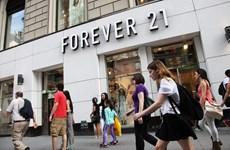 Hãng thời trang Forever 21 đệ đơn xin bảo hộ phá sản tại Mỹ
