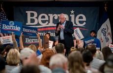 Bầu cử Mỹ 2020: Ứng cử viên Sanders đã gây quỹ được hơn 61 triệu USD