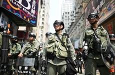 Cảnh sát Hong Kong thu nhiều vũ khí nghi liên quan đến người biểu tình