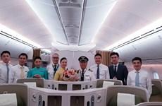 Vietnam Airlines khai thác Boeing Dreamliner tuyến TPHồ Chí Minh-Seoul