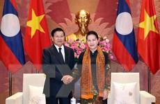 Chủ tịch Quốc hội Nguyễn Thị Kim Ngân hội kiến Thủ tướng Lào