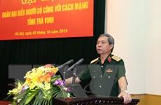 Gặp mặt đoàn đại biểu người có công với cách mạng của tỉnh Trà Vinh