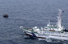Tàu tuần tra Nhật Bản cứu toàn bộ 60 thủy thủ tàu cá của Triều Tiên