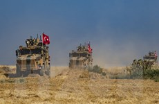 Thổ Nhĩ Kỳ thông báo hoàn tất việc chuẩn bị cho chiến dịch ở Syria