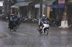 Các tỉnh Bắc Bộ và Bắc Trung Bộ có nơi mưa to đến rất to
