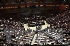Hạ viện Italy thông qua dự luật cắt giảm hơn 1/3 số nghị sỹ quốc hội