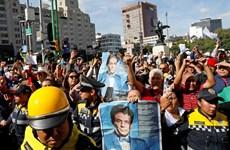 Người Mexico đồng thanh hát vang trong lễ tang của danh ca Jose Jose