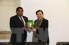 Phó Chủ tịch Quốc hội tiếp xúc song phương bên lề Đại Hội đồng IPU-141