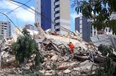 Sập tòa nhà 7 tầng tại Brazil, ít nhất hai người thiệt mạng