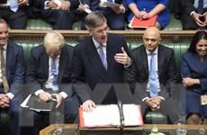 Quốc hội Anh hé lộ thời điểm thảo luận về thỏa thuận Brexit mới