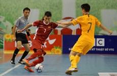 Việt Nam hạ Australia ở trận ra quân giải Futsal Đông Nam Á 2019