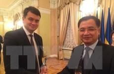 Quốc hội Việt Nam và Ukraine mong muốn tăng cường hợp tác