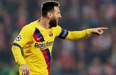 Lionel Messi làm nên điều chưa từng có trong lịch sử Champions League