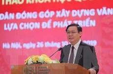 'Cần chọn giải pháp khả thi cho Chiến lược phát triển của Việt Nam'