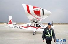 Máy bay điện 4 chỗ của Trung Quốc thực hiện chuyến bay đầu tiên
