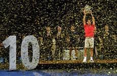 'Tàu tốc hành' Roger Federer hoàn tất cú decima tại Basel Open