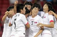Triều Tiên không tham gia giải bóng đá nữ khu vực tại Hàn Quốc