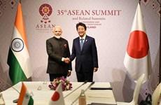 Nhật Bản và Ấn Độ nhất trí tăng cường hợp tác quốc phòng